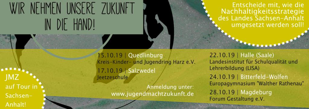 """Workshop-Reihe """"MitWirken! Deine Nachhaltigkeitsstrategie für Sachsen-Anhalt!"""""""