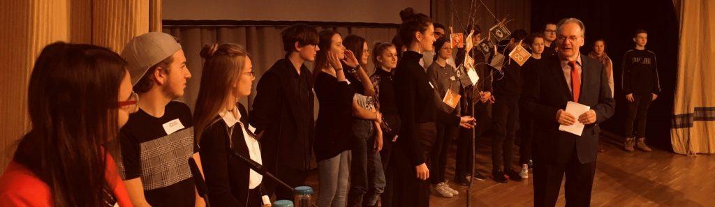 Jugend Macht Zukunft auf dem Nachhaltigkeitskongress in Halle!
