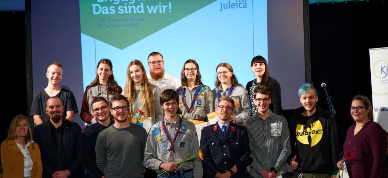 Gruppenfoto von der Juleica Ehrung 2019