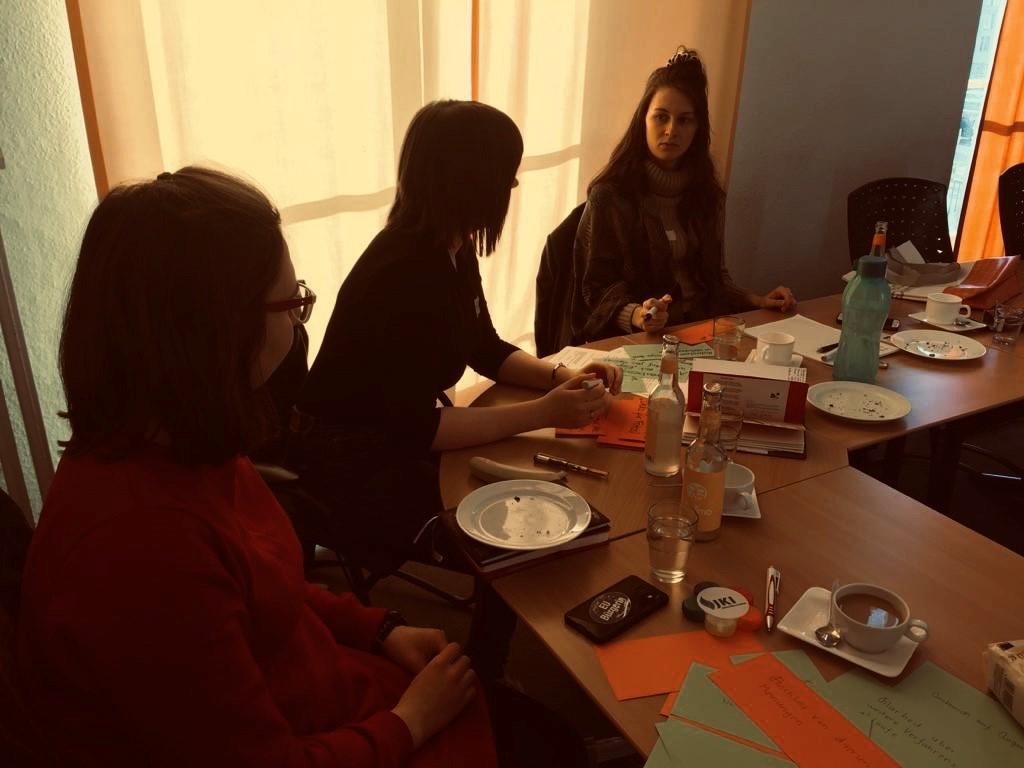 JugendMachtZukunft auf dem Vorbereitungstreffen der Bundesjugendkonferenz in Berlin