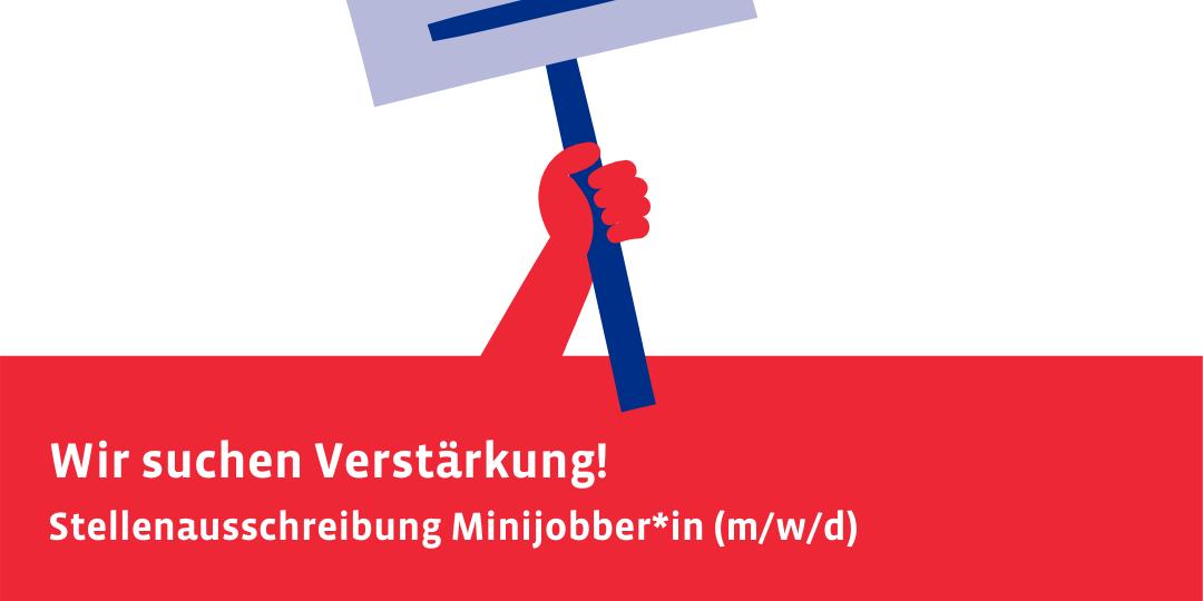 Stellenausschreibung Minijob JPP (Titelbild)